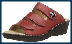 Ganter GRACIA, Weite G, Damen Pantoletten, Rot (rosso 4100), 41 EU (7.5 Damen UK) - Clogs für frauen (*Partner-Link)