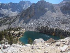 Heart Lake, Onion Valley, Sierras (c Roger Kempler)