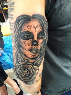 tattoo la catrina tattoo pinterest tattoos. Black Bedroom Furniture Sets. Home Design Ideas