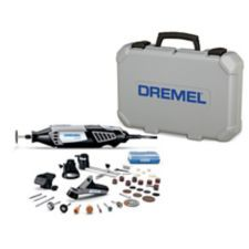 DREMEL 4000-4/34 Variable Speed Rotary Tool Kit is ideal for carving, engraving, cutting, cleaning, polishing, grinding, sharpening and sanding | Canadian Tire