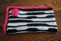 Ravelry: Zebra Newborn Blanket pattern by Lorene Haythorn Eppolite- Cre8tion Crochet
