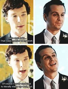 Sheriarty. Married to my work.