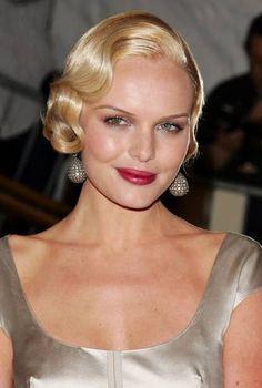 Kate Bosworth Finger Waves