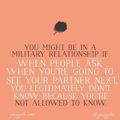 I don't know. But seriously. I. Don't. Know. #milso #milspouse