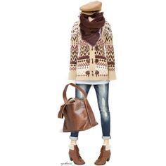 """Cozy Cardigan"" by cynthia335 on Polyvore"