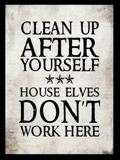 House elves sound good to me!