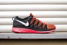 Nike – Flyknit Lunar2 (hyper punch/ black) #Sneakers #Nike #Lunar #SUPPA