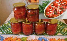 Asa faci cei mai buni Ardei capia copți la borcan | Bucataria Noastra Salsa, Food, Canning, Fine Dining, Essen, Salsa Music, Meals, Yemek, Eten