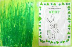 de toutes les couleurs: Lulu le lapin