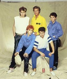"""""""Is There Something I Should Know?"""" cover shoot. """"Is There Something I Should Know?"""" (which peaked at #1) is the eighth single by Duran Duran, released on 19 March 1983."""