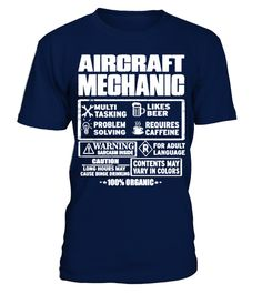# AIRCRAFT MECHANIC - AWESOME AIRCRAFT MEC .  AIRCRAFT MECHANIC - AWESOME AIRCRAFT MECHANIC TEE Shirt T-Shirt Hoodie