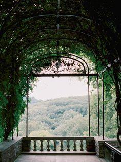 A gorgeous ceremony spot.