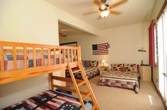 Big Bear Cabin #15 Waterscape Estate 5Bed/4.5 Bath To Book call (310) 800-5454 or click the image! #BigBear #vacation #lake #bunkbed #kids