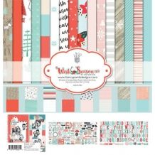 Fancy Pants Designs - Wish Season Collection - Christmas - 12 x 12 Collection Kit Scrapbooking, Scrapbook Supplies, Scrapbook Paper, Country Sweatshirts, Statement Tees, Slogan Tee, Alphabet And Numbers, Anger Management, Fancy Pants