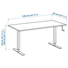 IKEA SKARSTA desk sit/stand Adjustable feet make the desk stand steady also on uneven floors. Honeycomb Paper, Der Computer, Ikea Family, Sit To Stand, Home Desk, Under The Table, Work Surface, Particle Board, Furniture