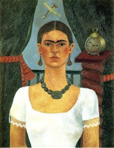View Self-portrait by Frida Kahlo on artnet. Browse upcoming and past auction lots by Frida Kahlo. Frida Kahlo House, Frida Kahlo Diego Rivera, Frida And Diego, Famous Artists Paintings, Famous Portraits, Famous Artwork, Famous Portrait Artists, Renaissance Fashion, Folk Fashion