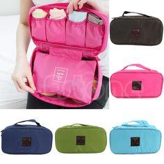 New Portable Protect Bra Underwear Lingerie Case Travel Organizer Waterproof Bag