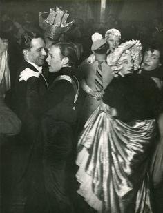 Brassaï, La Bal des Inverts, au Magic City, Rue Cognac, Jay, c. 1932.