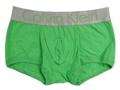 Calvin Klein Steel Micro Boxer Briefs - Green