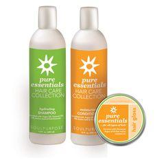 Pure Essentials Healthy Hair Gift Set Item #: SP722 Contains: SP380 – Salon Red/Pure Essentials Shampoo 12oz SP381 – Salon Red Conditioner SP385 – Salon Red Shine Your Price:$55.00