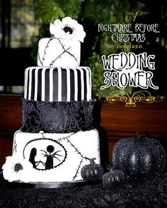 Confessions Of A Holiday Junkie!: Nightmare Before Christmas Wedding Shower!