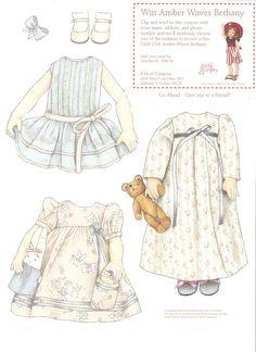 recort, klippdockor, missi paper, collect doll, kid paperdol, paperdolllittl girl, kish, paper dolls3, bethani