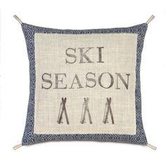 Ski Season Pillow