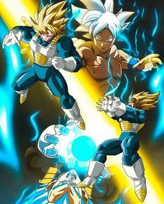 Goku or Vegeta? 🉐🐯 Please double tap and comment (Credit IDK) . Dragon Ball Z, Goku Dragon, Black Lightning Static Shock, Hero Fighter, Godzilla, Boruto, Epic Pictures, Db Z, Son Goku
