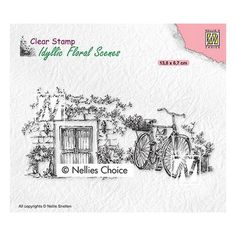 Tampon clear transparent scrapbooking Nellie Snellen PORTE FEUILLAGE VELO 033 Electronic Gift Cards, Cottage Door, Tampons Transparents, Scrapbooking, Home And Deco, Simon Says Stamp, Clear Stamps, Choices, Scene