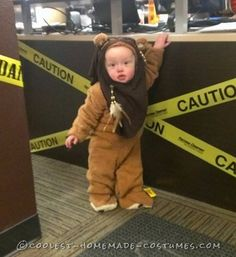Cute Homemade Little Ewok Costume... Coolest Homemade Costumes