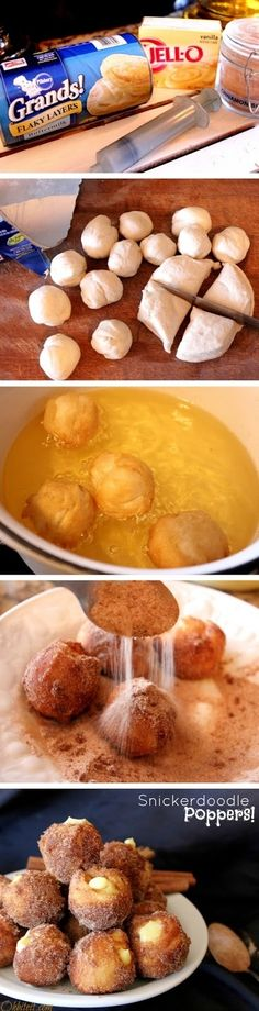 Snickerdoodle Poppers | 15 REALLY EASY RECIPES WORTH PINNING AND TRYING!!!