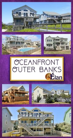 Wouldn't you love an OCEANFRONT beach vacation in the OBX?? Check out our amazing properties and BOOK TODAY!