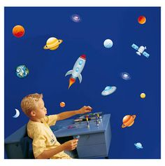 Space wall stickers $