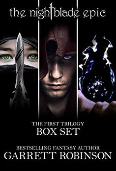 Amazon.com: The Nightblade Epic First Trilogy Box Set: Books 1-3 of The Nightblade Epic eBook: Garrett Robinson: Kindle Store