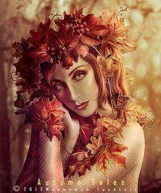 Autumn Tales by MasoumehTavakoli-Art on DeviantArt