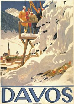 1918 r. Emil Cardinaux Sports Day Poster, Cowgirl And Horse, Poster Drawing, Davos, Swiss Alps, Creative Posters, Travel And Tourism, Vintage Travel Posters, Winter Sports