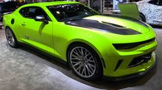 Chevrolet Camaro Performance on Auto X Concept at SEMA motor show