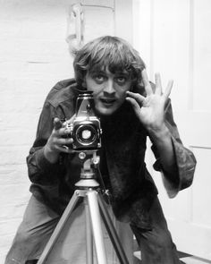 David Hemmings as Photographer in Michelangelo Antonioni's Movie 'Blow-Up' Photo