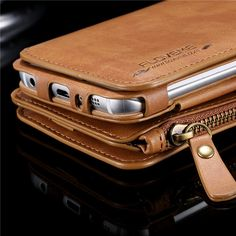 Floveme Retro PU Multi-functional Wallet Case Cover For Samsung Galaxy S6/S6…
