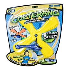 Zing Air Copterang Boomerang Helicopter * See this great product by click affiliate link Amazon.com