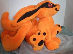 Baby KuramaKyuubi Nine Tail Fox Plush by CosmicCritterCrafts