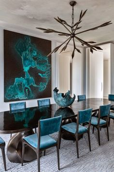 South Shore Decorating Blog: 50 Favorites for Friday #167 (Modern Dining Rooms)