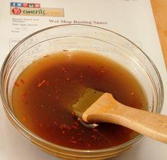 Wet Mop Basting Sauce