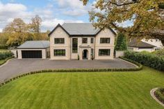 5 bedroom detached house for sale in Stunning new house - adjoining the Mere Golf Resort - Rightmove. Dream Home Design, Home Design Plans, Fancy Houses, House Goals, Life Goals, Facade House, House Exteriors, Dream House Exterior, House With Porch