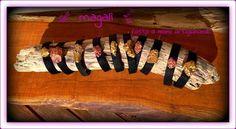magalì: bracciali e ciondoli con pepite oro o bronzo
