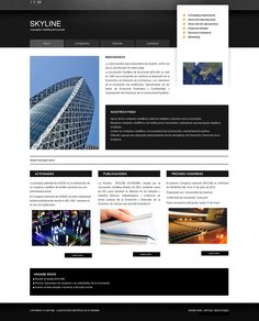 Proyecto para Asociación - Inicio #diseñoweb #paginasweb #DiseñadorWebValencia #DiseñadorWeb