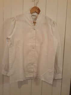 713731366f179 Laura Ashley 70 s Style White Blouse Size 14  fashion  clothes  shoes   accessories