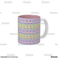 Cupcakes Two-Tone Coffee Mug