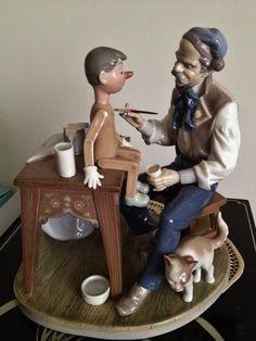Lladro Pinocchio aka Puppet Painter 5396 Mint by Lladro4You