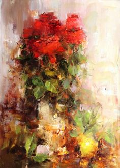 Angelica Privalihin - Red Roses and Lemon